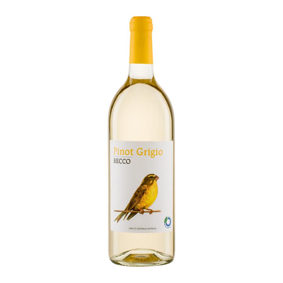 Pinot Grigio, 2019, IGT, tr., vegan, Bioprodukt-  Becco