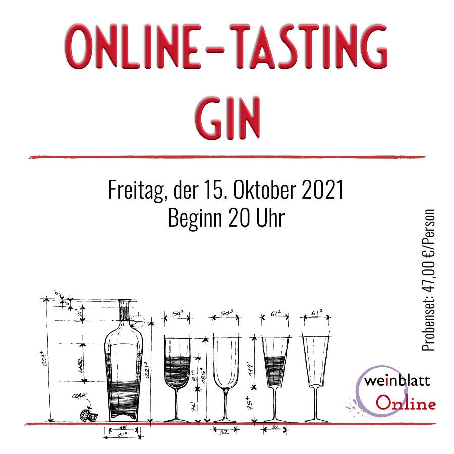 20211015 Gin Tasting - Online