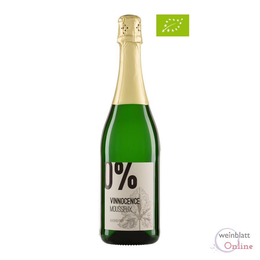 Vinnocence Mousseux, alkoholfrei, Bioprodukt, vegan