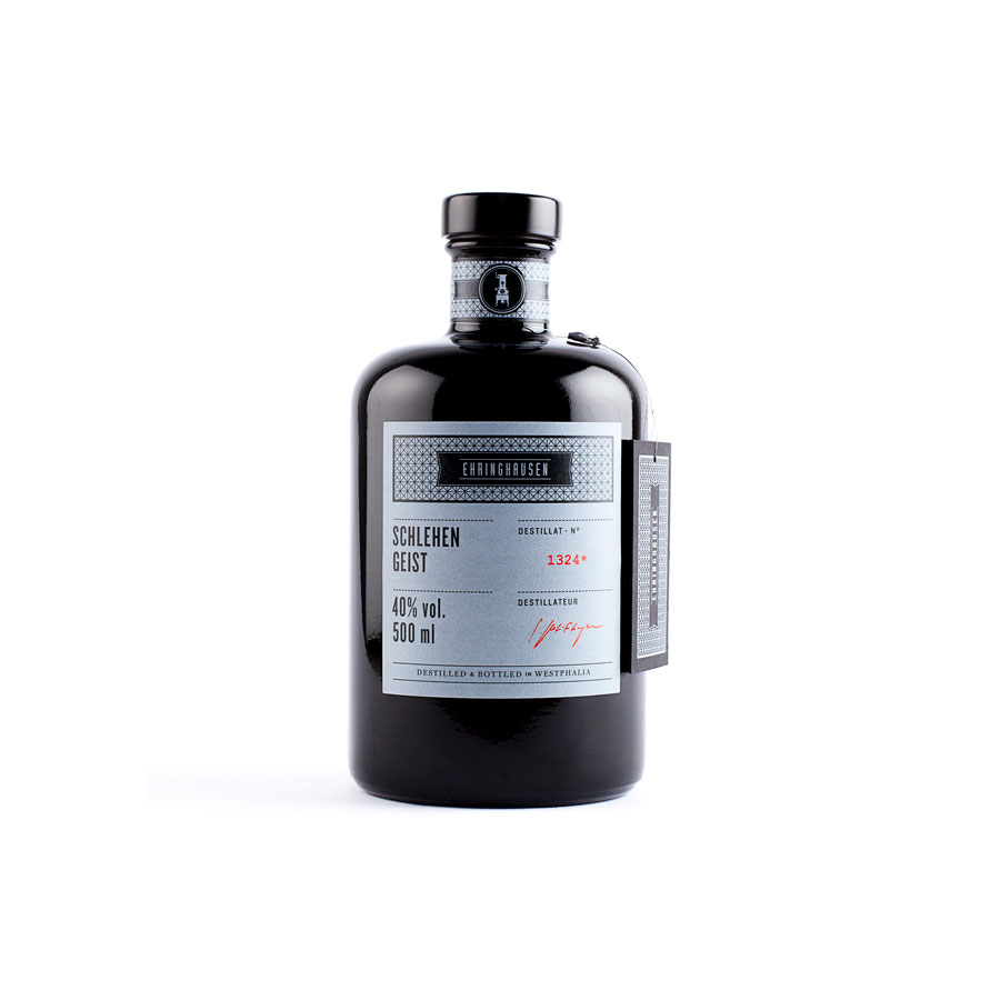 Schlehengeist 40%-vol., 0,50 L, Bioprodukt - Ehringhausen