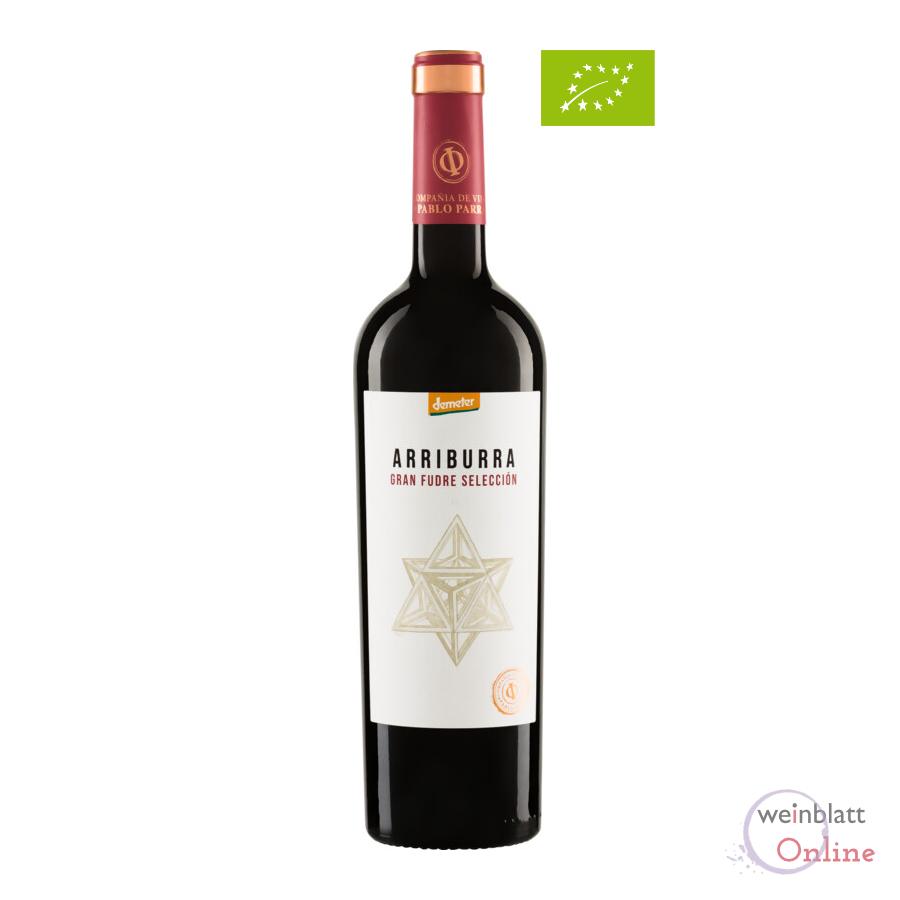Arriburra Gran Fudre Tinto 2018, tr., Bioprodukt, vegan - Weingut Irjimpa - ES-ECO-002-CM
