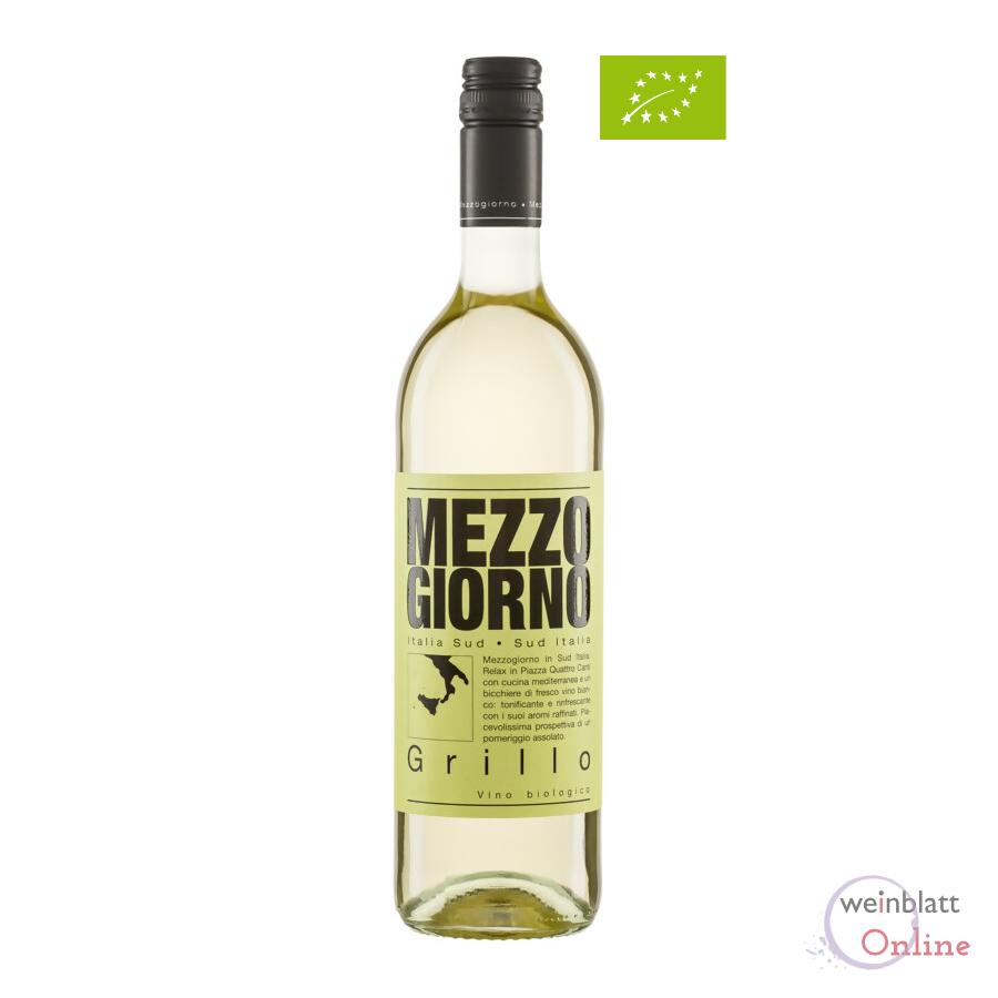 Grillo, 2020, IGT, tr., Bioprodukt -  Mezzogiorno - DE-ÖKO-001