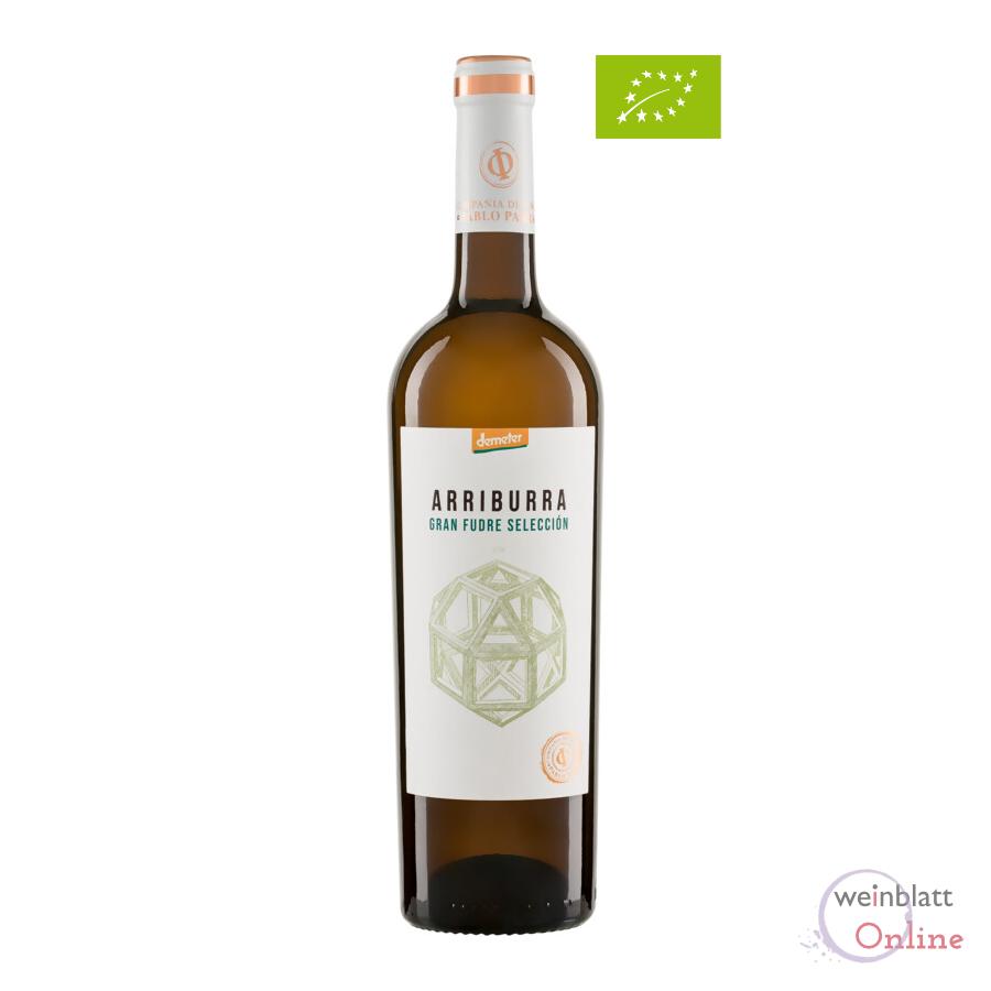 Arriburra Gran Fudre Blanco 2018, tr., Bioprodukt, vegan - Weingut Irjimpa - ES-ECO-002-CM