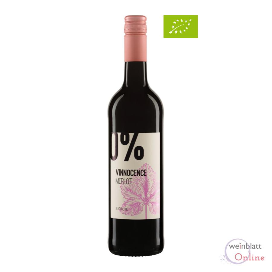 Merlot Vinnocence, alkoholfrei, Bioprodukt, vegan DE-ÖKO-001