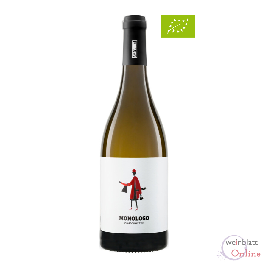 Chardonnay, 2020, Monólogo P706, VR, tr., Bioprodukt, vegan - A&D Wines - PT-BIO-03
