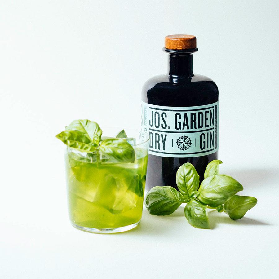 Gin Jos. Garden dry, 0,5 L, 44-% vol. - Ehringhausen