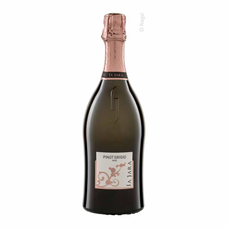 Pinot Grigio Rosé Spumante, brut, Bioprodukt, vegan - La Jara