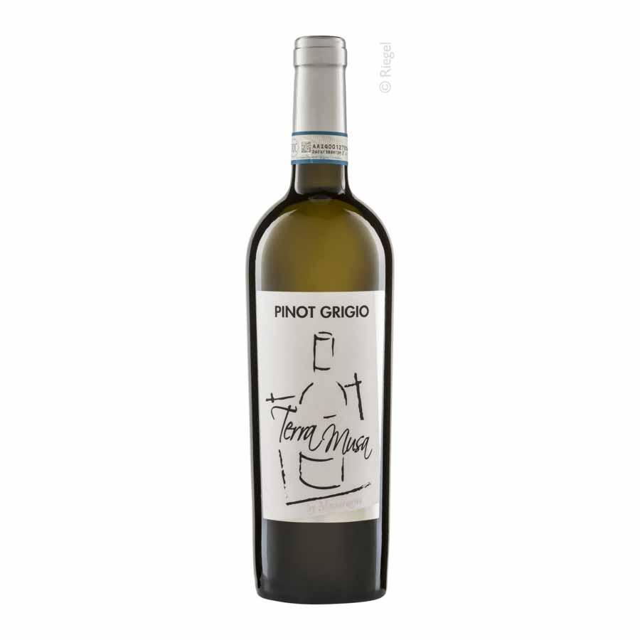 Pinot Grigio, 2020, DOC, tr., Bioprodukt, vegan - Terra Musa  IT-BIO-006